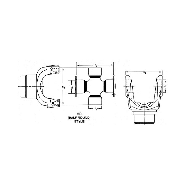 Spicer - Universal Joint - 1810 Series - SPI5-676X