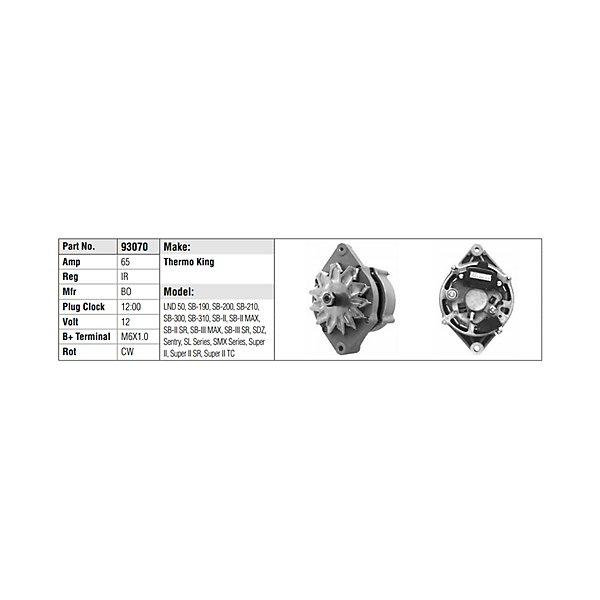 Delco Remy - DEC93070-TRACT - DEC93070