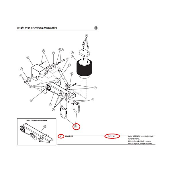 U-Bolt | Truck & Trailer Suspension Components | Steering