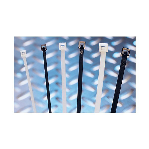 Phillips - Cable Tie - 11in Black - Nylon - 50 lb. - 100 Pcs. - Polybag - PHI8-43117
