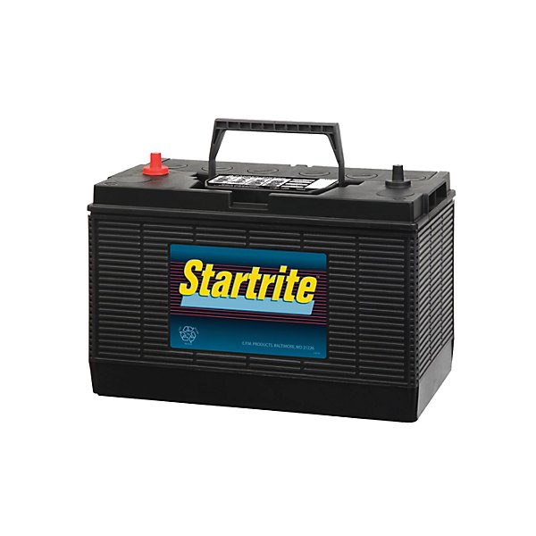 Startrite - Battery - 12V - Group 31 - 925 CCA - 1135 CA - Top Post - Flooded Lead-Acid - BAT31S-925
