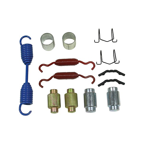 HD Plus - Brake Hardware Kit for Meritor Q Air Brake Shoe with 16-1/2 in. Diameter x 7 in. Width - Includes 8-3/8 in. ReturnSpring - BHKBHK051