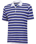 adidas ClimaCool Sport Classic Stripe Polo