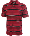 Ashworth Performance Gradient Stripe Interlock Polo