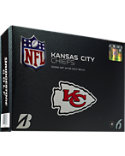 Bridgestone e6 Straight Distance Kansas City Chiefs NFL Golf Balls - 12 Pack