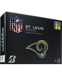 Bridgestone e6 Straight Distance St. Louis Rams NFL Golf Balls - 12 Pack