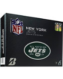 Bridgestone e6 Straight Distance NFL New York Jets Golf Balls - 12 Pack