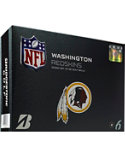 Bridgestone e6 Straight Distance NFL Washington Redskins Golf Balls - 12 Pack