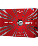 Callaway Chrome Soft Golf Balls - 12 Pack
