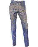 EP Pro Women's Stretch Tapestry Jacquard Ankle Pants