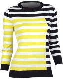 EP Pro Women's Engineered Stripe Sweater