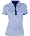 EP Pro Women's Regal Medallion Print Polo