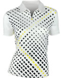EP Pro Women's Lattice Print Polo