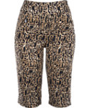 Jamie Sadock Women's Animal Print Knee Capris