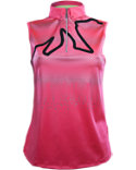 Jamie Sadock Women's Rope Motif Sleeveless Polo