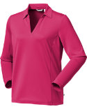 Lady Hagen Women's Milan Long Sleeve Polo