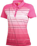 PUMA Women's Line Stripe Polo
