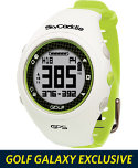 SkyCaddie WATCH Golf GPS Rangefinder - White/Green