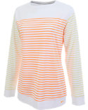 Slazenger Women's Cloud Striped Long Sleeve Top