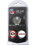 Team Golf San Francisco 49ers NFL Cap Clip