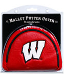Team Golf Wisconsin Badgers NCAA Mallet Putter Cover
