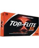 Top Flite XL Distance Orange Golf Balls - 18 Pack