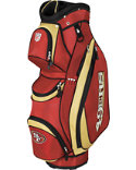 Wilson San Francisco 49ers NFL Cart Bag