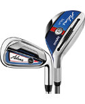 ADAMS GOLF Blue Hybrid/Irons - Graphite/Steel