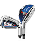 ADAMS GOLF Blue Hybrid/Irons - Graphite
