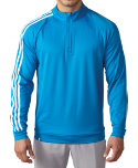 adidas 3-Stripes 1/4-Zip Layering Top