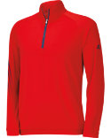 adidas ClimaLite 3-Stripes 1/2-Zip Training Top