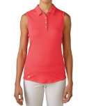 adidas Women's Essentials Heather Sleeveless Polo