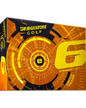 Bridgestone e6 Straight Flight Yellow Golf Balls - 12 Pack