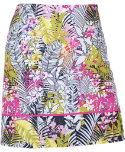 EP Pro Tropical Print Faux Wrap Skort