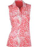EP Pro Women's Skin Print Sleeveless Polo