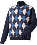 FootJoy Merino Argyle 1/2-Zip