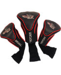 Team Golf Gonzaga Bulldogs Contour Sock NCAA Headcovers - 3 pack