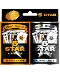 H&H 5-Star Playing Cards - 2 Pack