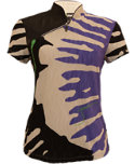 Jamie Sadock Women's Fingerlings Print Polo