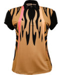 Jamie Sadock Women's Abstract Monarch Print Polo