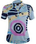 Jamie Sadock Women's SoCal Geometric Print Polo