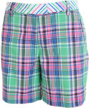 Lady Hagen Women's East Hampton Plaid Shorts