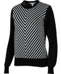 Lady Hagen Women's Regal Chevron Sweater