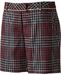 Lady Hagen Women's Regal Ombre Plaid Shorts