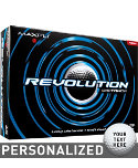Maxfli Revolution Distance Personalized Golf Balls - 12 Pack