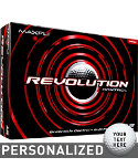 Maxfli Revolution Control Personalized Golf Balls - 12 Pack