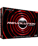 Maxfli Revolution Spin Golf Balls - 12 Pack