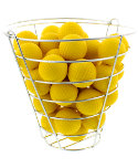 Maxfli Foam Practice Balls with Storage Basket - 40 Pack