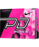 Nike Women's PD Pink Personalized Golf Balls - 12 Pack
