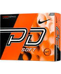 Nike PD Soft Orange Personalized Golf Balls - 12 Pack